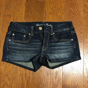 American Eagle stretch dark shorts